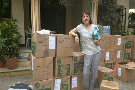 Female Hygiene Kits for women of Siddharthanagar